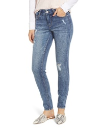 Jag Jeans Cecilia Distressed Skinny Jeans