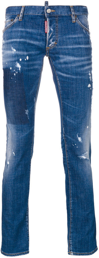 DSQUARED2 Clet Straight Leg Jeans
