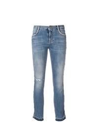 Ermanno Scervino Cropped Skinny Jeans