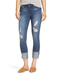 Cuffed crop skinny jeans medium 8680192