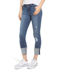 1822 Denim Cuffed Skinny Jeans