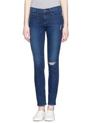 Frame Denim Le Skinny De Jeanne Ripped Jeans