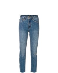A.P.C. Distressed Cropped Jeans