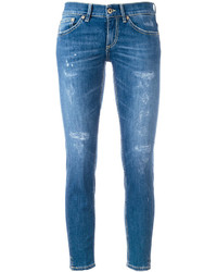Dondup Distressed Cropped Skinny Jeans