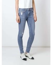 Rag & Bone Distressed Skinny Jeans
