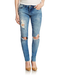 Blank NYC Distressed Skinny Jeans