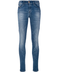 Distressed skinny jeans medium 4155716