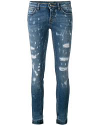 Distressed skinny jeans medium 5261809