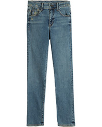 Helmut Lang Distressed Skinny Jeans