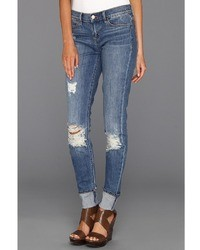 Dittos Kelsey Mid Rise Skinny In Rippin It Up Jeans