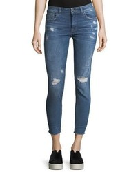 DL1961 Dl 1961 Florence Crop Distressed Skinny Jeans