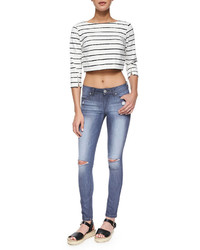 DL1961 Dl 1961 Premium Denim Emma Bailey Distressed Denim Leggings