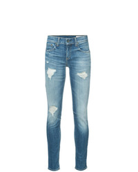 Rag & Bone Dre Distressed Skinny Jeans