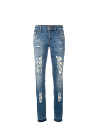 Philipp Plein Fix You Morgan Fit Jeans