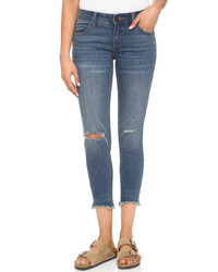 Free People Distressed Jeans
