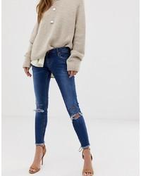 One Teaspoon Freebird Ripped Skinny Jeans