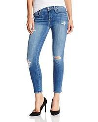 Loren Genetic Denim Slim High Rise Jean In Destroy