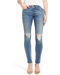 Rag & Bone Jean Destroyed Skinny Jeans