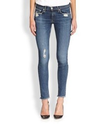 Rag & Bone Jean The Distressed Skinny Jeans La Paz