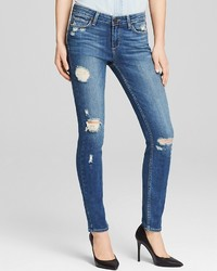 Paige Denim Jeans Verdugo Ultra Skinny In Danica Destructed