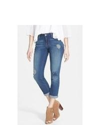 Jessica Simpson Forever Distressed Crop Skinny Jeans