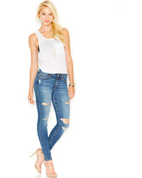 Joe's Jeans Joes The Icon Distressed Skinny Jeans Seneka Wash