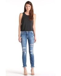Joe's Jeans Joes The Boyfriend Distressed Skinny Jeans