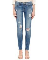 Frame Denim Le Skinny Jeans Blue