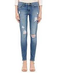 Frame Denim Le Skinny Jeans Blue Size 24