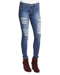 Frame Le Skinny Le Rip Jeans Houston