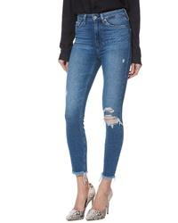 Paige Margot High Waist Crop Skinny Jeans