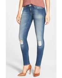 Mavi Jeans Serena Distressed Stretch Skinny Jeans