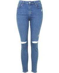 Topshop Moto Ripped Jamie Jeans