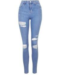 Moto Super Rip Blue Jamie Jeans