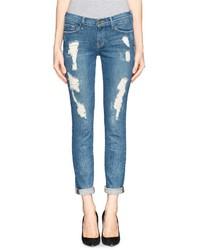 Nobrand Le Skinny De Jeanne Distressed Jeans