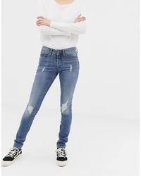 Blend She Nova Jappa Destroyed Skinny Jeans