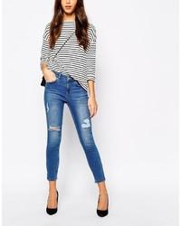 Oasis Ripped Skinny Jean