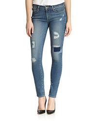 Paige Verdugo Ultra Distressed Skinny Jeans
