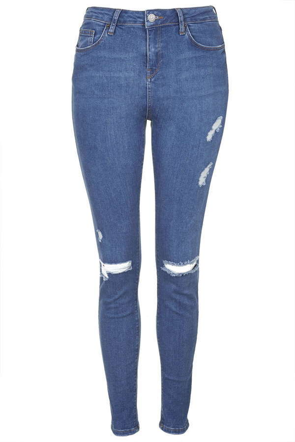 various kinds of attractive & durable new authentic $75, Topshop Petite Moto Ripped Jamie Jeans