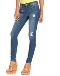 Rachel Roy Rachel Jeans Distressed Medium Wash Skinny
