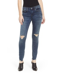 BLANKNYC Ripped Ankle Skinny Jeans