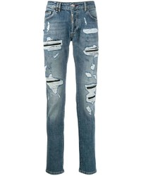 Philipp Plein Ripped Jeans