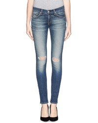 Nobrand Ripped Skinny Jeans
