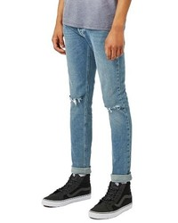 Ripped stretch skinny fit jeans medium 1150063