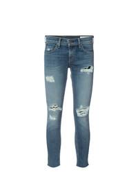 rag & bone/JEAN Skinny Cropped Jeans