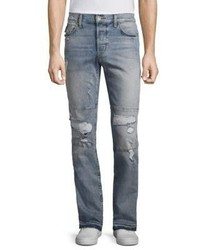 Hudson Skinny Intent Distressed Jeans