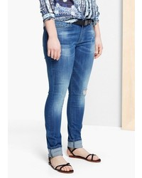 Violeta BY MANGO Super Slim Fit Pupi Jeans