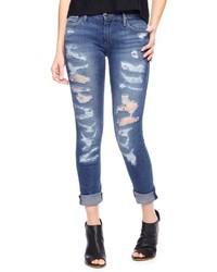 True Religion Victoria Skinny Distressed Jean