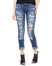 True Religion Victoria Skinny Distressed Jean
