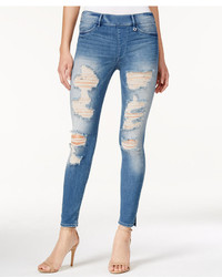 True Religion Vintage Ripped Leggings Solstice Wash